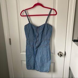 Theory Liana Zip Front Sheath Dress Size 4